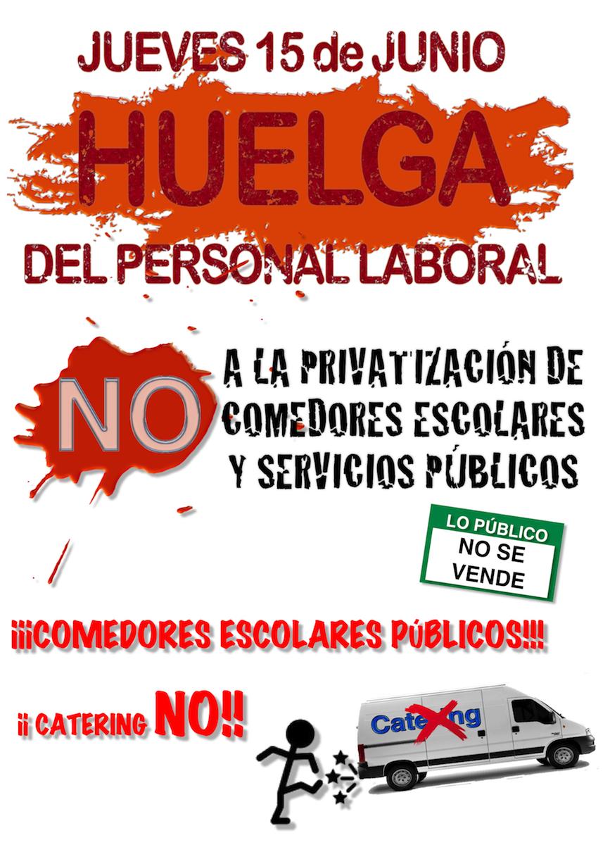 cartel huelga2