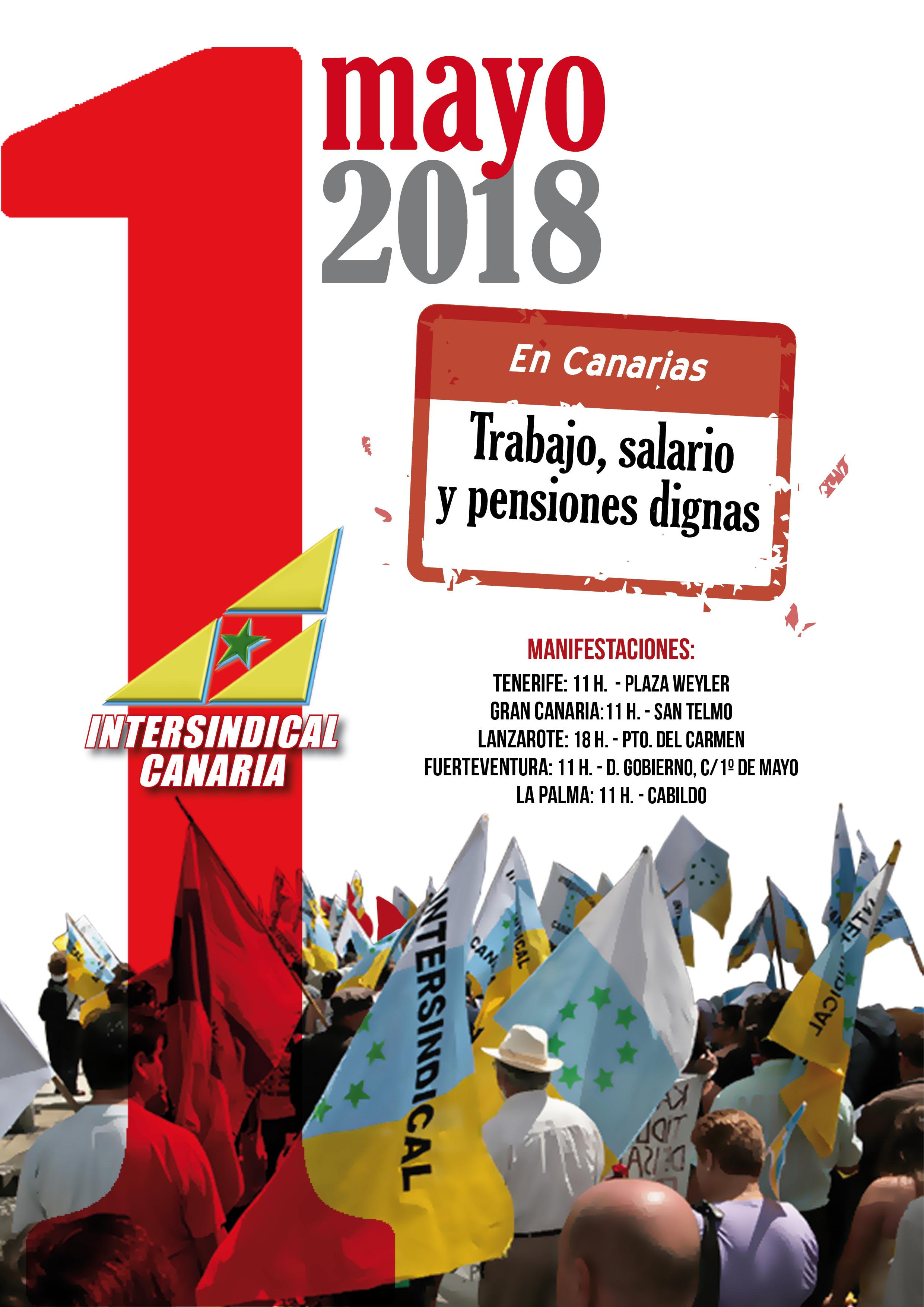 cartel 1 Mayo 2018