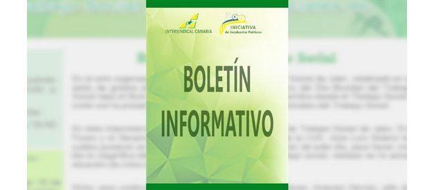 Boletín de noticias IC/Abril 2019