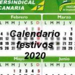 Calendario festivos CC.AA 2020