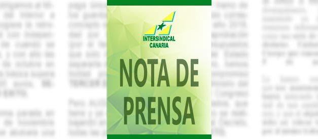 Peligra la nómina de la Prestación Canaria de Inserción (PCI) y de las Pensiones no contributivas (PNC)