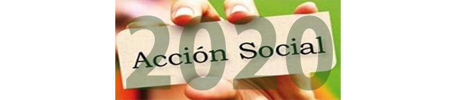 Acción Social 2020 – Plazo abierto