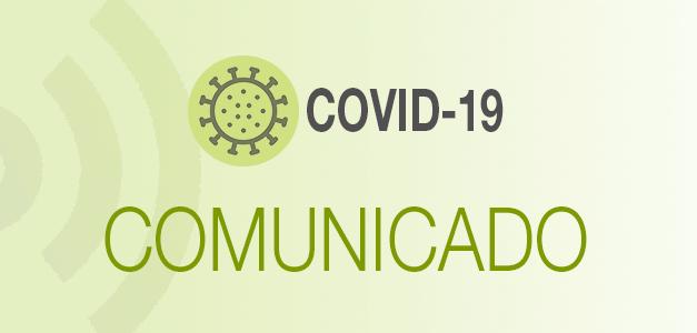 Comunicado medidas de seguridad y organizativas frente al COVID para realización de pruebas selectivas