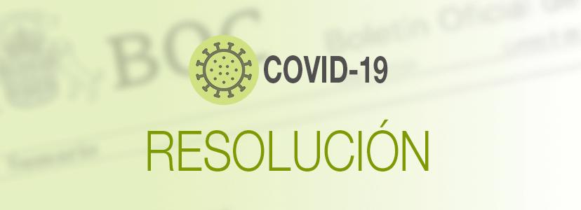 Resolución 451/2020, de levantamiento de la suspensión de procedimientos de movilidad de personal