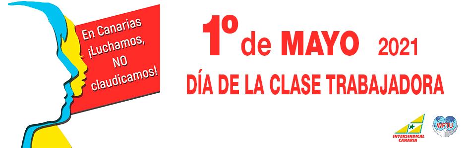1 de Mayo. Manifestación Caravana de coches