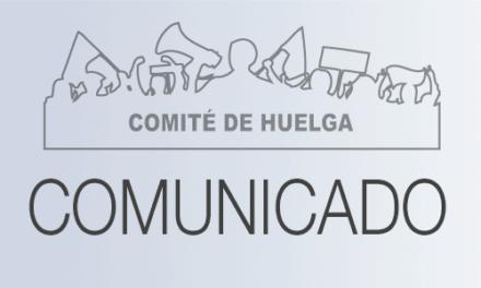30 de abril: Firma del primer acuerdo entre el Comité de Huelga y la Administración