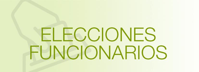 Resultados provisionales de las elecciones de las Juntas de Personal Funcionario